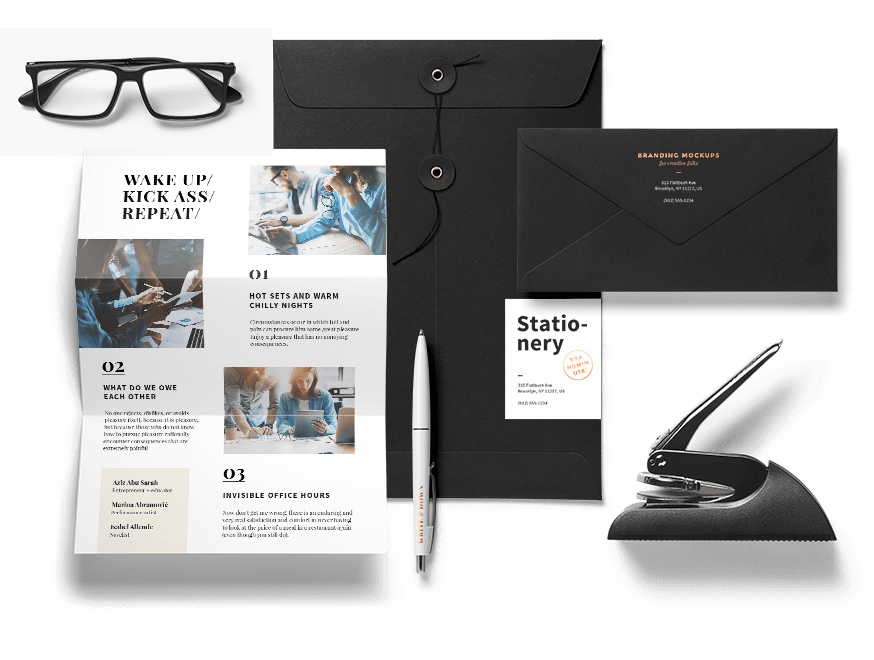 Corporate identity design packages